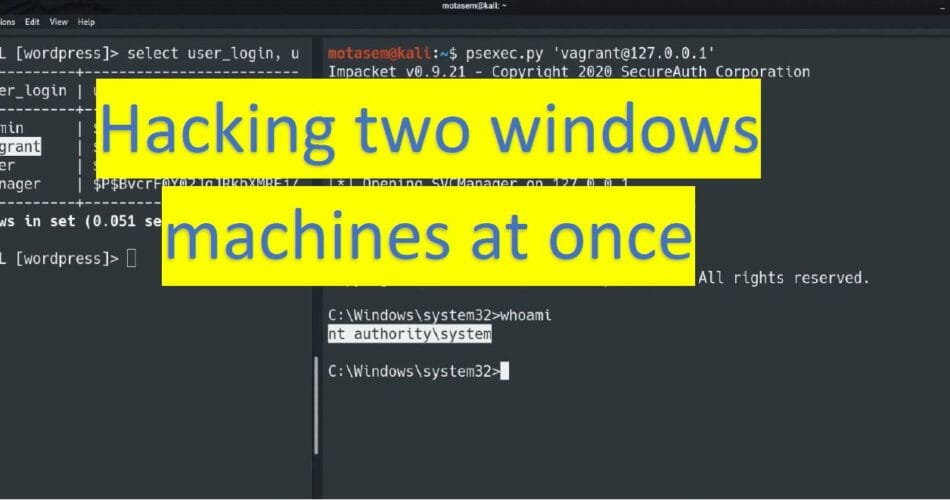 How to Hack multiple Windows machines at one time - Metaslpoitable 3