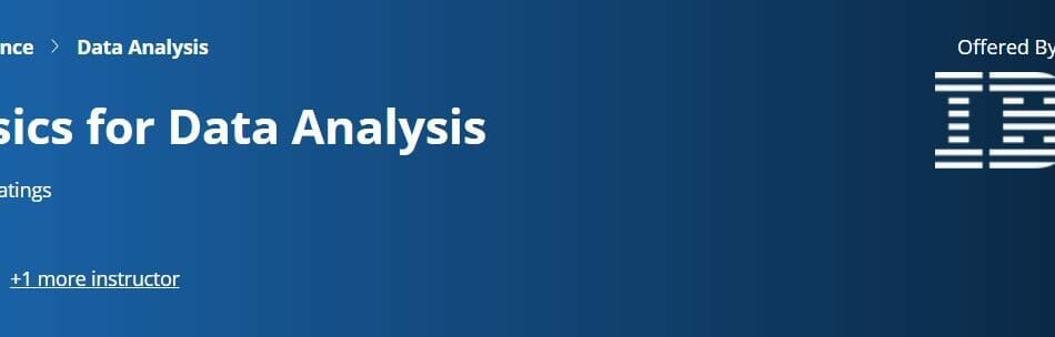 Excel Basics For Data Analysis - IBM Data Analyst Professional Certificate Review